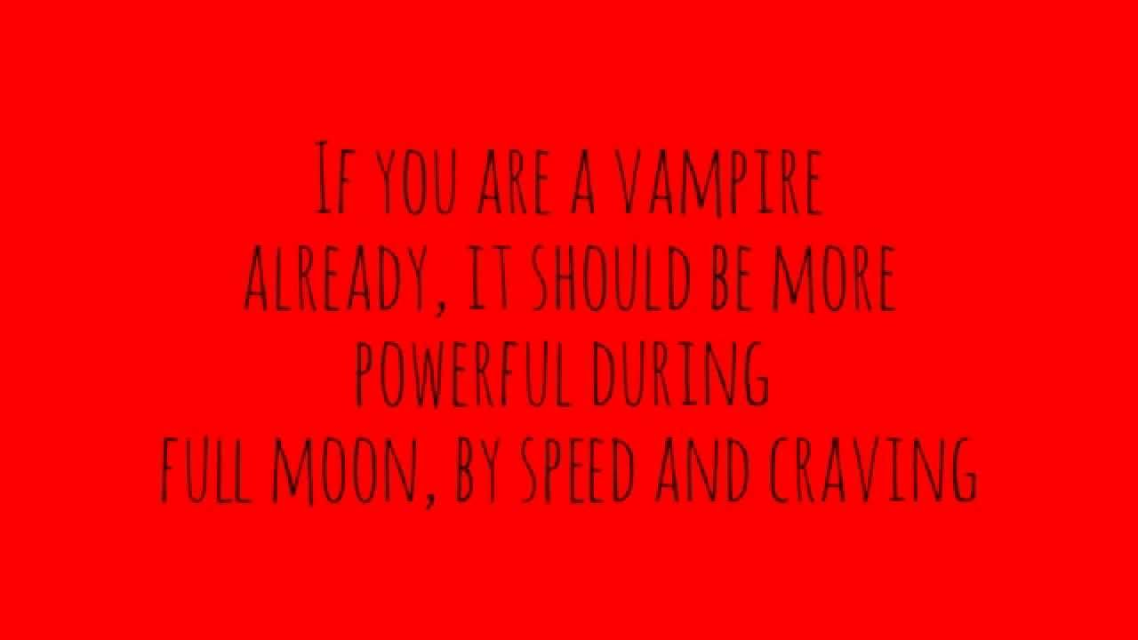 Vampire Spell- REALLY WORKS!! (TESTED) - YouTube
