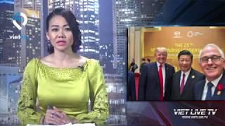 Thủ tướng Úc 'cắt' Chủ tịch Quang khỏi ảnh selfie