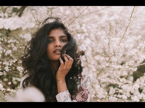 Behind The Scenes Photoshoot Professional Model, Priya Mareedu | Springtime Bridal Portraits