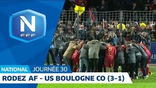 J30 : Rodez AF - US Boulogne CO (3-1), le résumé I National FFF 2018-2019