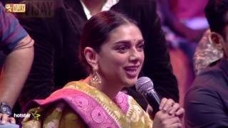 Aditi sings with Sajini and Pallavi
