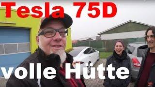 """Tesla Model S 75D mit """"volle Hütte"""" für meinen Kunden"""