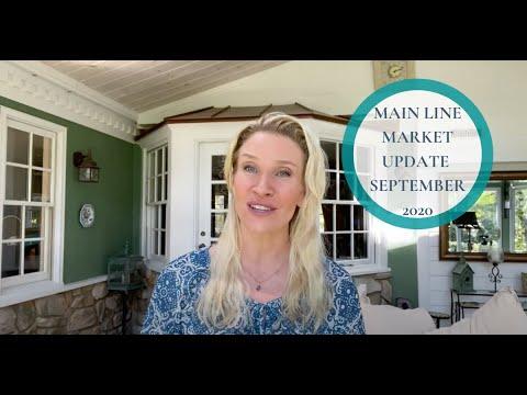 Main Line 🏘📝  Market Update September 2020 from Kimmy Rolph Real Estate