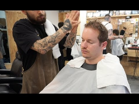 World´s Greatest Head Massage 11 ASMR inspired / Nomad Cosmic Barber / London Edition