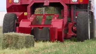 Marcrest - Self-Propelled Bale Baron 4240SP - Small Bale Packaging