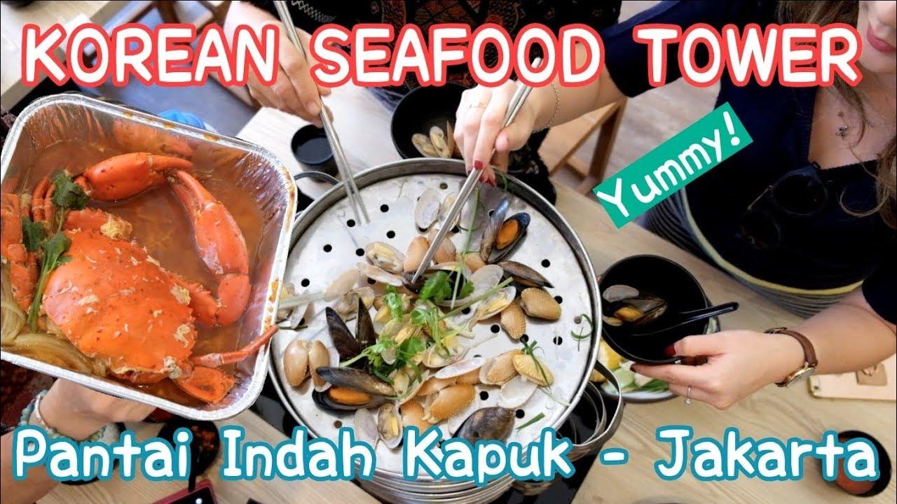 The Seafood Tower Makan Seafood Bertumpuk Kuliner