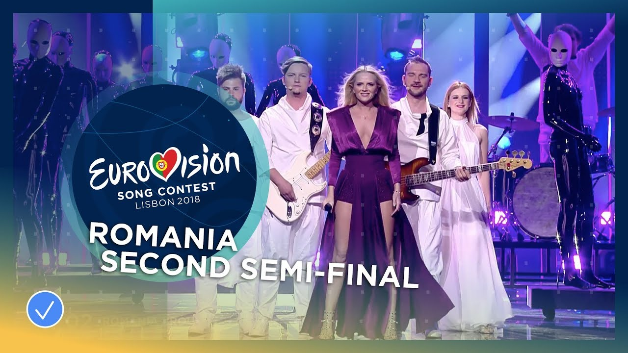 The humans goodbye romania live second semi final How to say goodbye in romanian