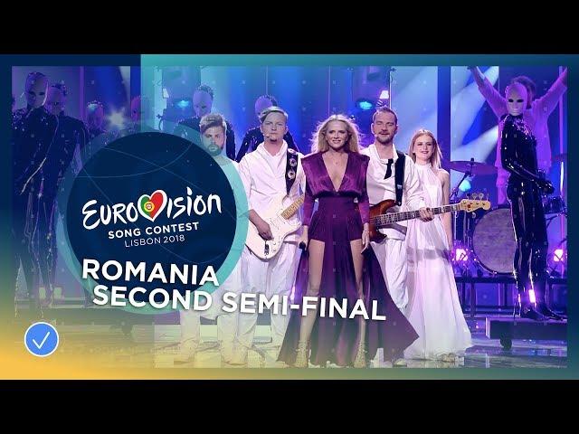 The Humans - Goodbye - Romania - LIVE - Second Semi-Final - Eurovision 2018