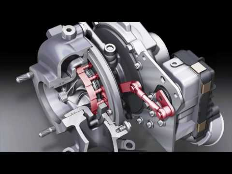 Turbocharger with variable geometry