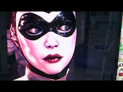 Arkham Knight Classic Harley Quinn Mask Tutorial