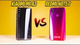 Xiaomi Mi A3 vs Redmi Note 7 - THIS WAS A TOUGH DECISION