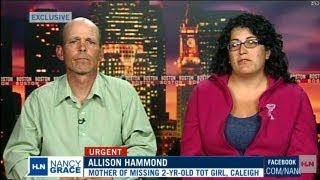 Missing girl's parents speak out to Nancy Grace