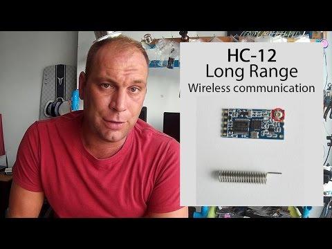 Long range, 1.8km,  Arduino to Arduino wireless communication with the HC-12