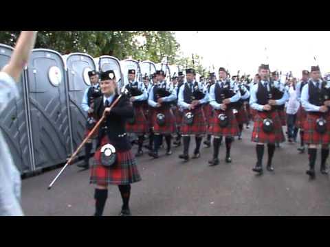 Field Marshal Montgomery Pipe Band World Champions 2012