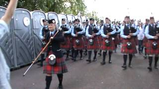 Field Marshal Montgomery Pipe Band World Champions 2012