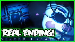 fnaf sister location real ending new animatronic five nights at freddy s sister location gameplay