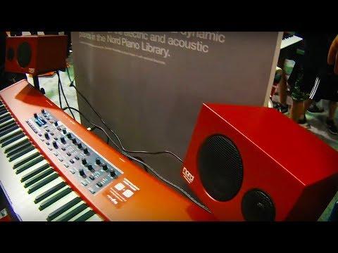 NAMM 2019 Nord Piano Monitors