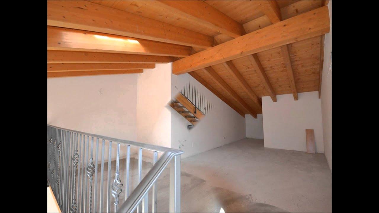 Nuovo appartamento con soppalco a Roè Volciano - YouTube