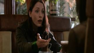 Laura Fraser and Emma Peirson Smoking In Cafe