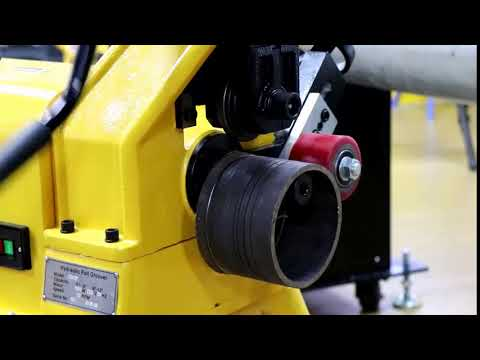 π Tape Application for Pipe Grooving