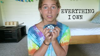 Everything I Own // Minimalist ✩