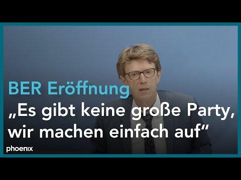 """#BPK: """"Die Eröffnung des BER am 31.Oktober"""" vom 29.09.20"""