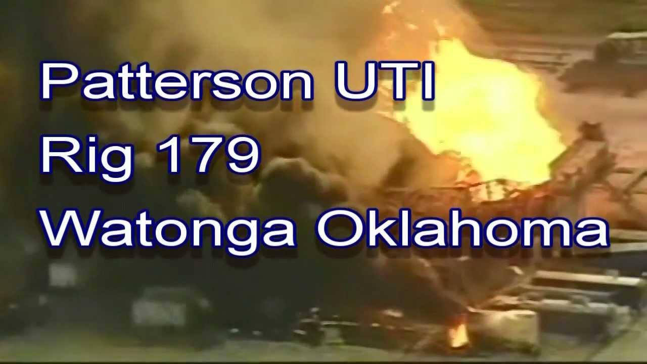 patterson rig 179 blowout explosion watonga okla