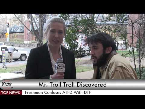 Slant TV: Troll Discovered Under Commons Bridge