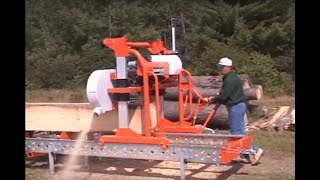 Lumbermate Pro Portable Sawmill - 23 HP Briggs & Stratton Engine, Model# MX34