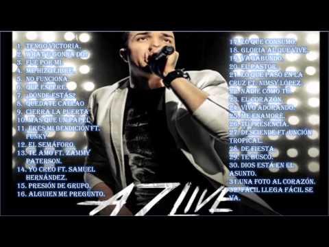 Alex Zurdo - AZ Live (2016) Disco Completo.