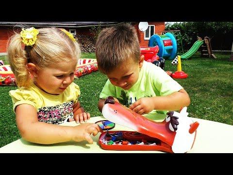 ✿ Новые Игры Для Детей БОЛЬНОЙ ВОЛЧОНОК Splash Toys new Game Челендж Игры Развивающие Video for Kids