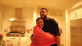 AGNEZ MO at French Montana 39 s house in California