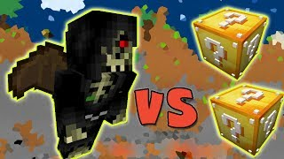 A MORTE VS. LUCKY BLOCK (MINECRAFT LUCKY BLOCK CHALLENGE REAPER)
