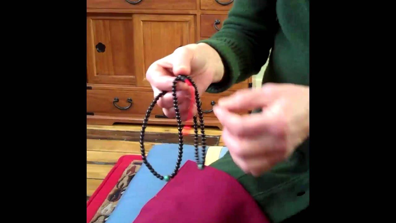 how to make mala beads youtube