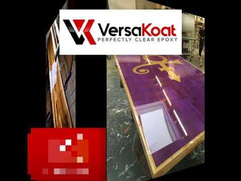 VersaKoat Perfectly Crystal Clear Epoxy Resin - 2 Part - 1 Gallon Epoxy