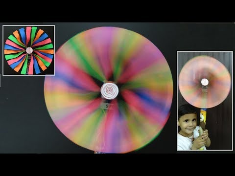 Paper Crafts: How to make a spinning Pinwheel | DIY Toy for kids