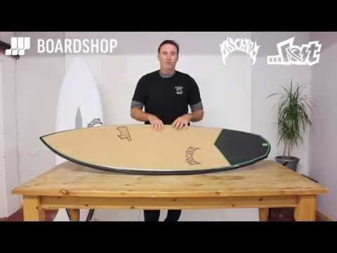 Lost Surfboards v3 Rocket C3 Construction with Matt Biolos