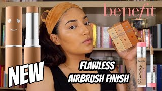 BENEFIT COSMETICS HELLO HAPPY AIR STICK FOUNDATION WEAR TEST   ALEXISJAYDA