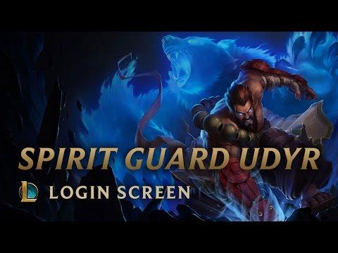 Spirit Guard Udyr | Login Screen - League of Legends