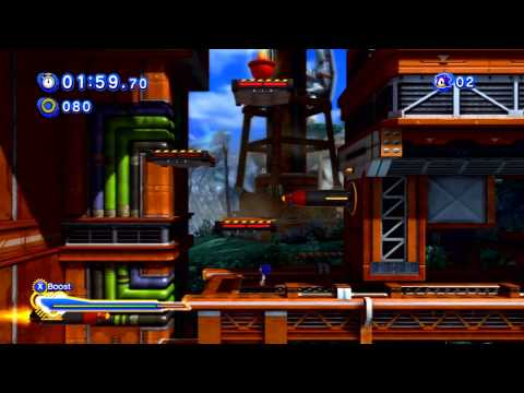 Sonic Generations - Planet Wisp (Act 2) - Red Rings
