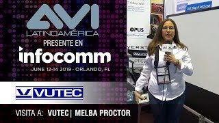 Visita a Vutec durante  InfoComm Orlando 2019