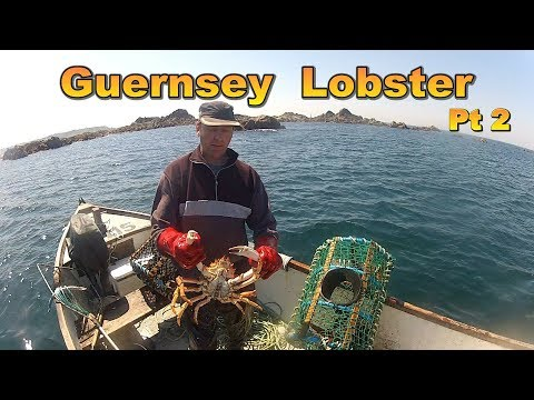 Lobster Fishing Around Guernsey With A Small Boat Pt 2
