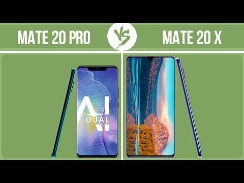 Huawei Mate 20 Pro Vs Huawei Mate 20 X ✔️