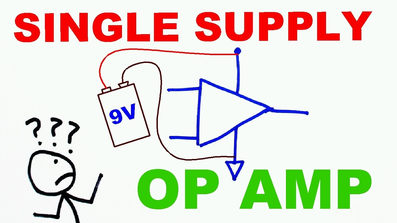 How To Use Op Amps With A Single Rail Power Supply Youtube Negative Circuit