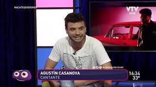 Agustín Casanova: ''Mis temas hablan de experiencias vividas''