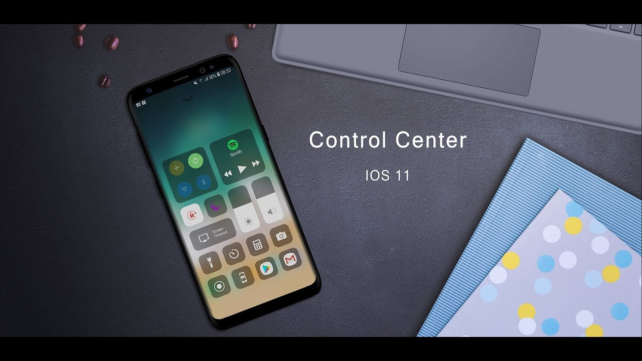[Control Center IOS 13] How to use Control Center created by LuuTinh Developer