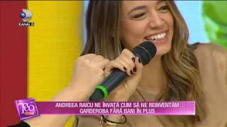 Teo Show (30.10.2019) - Andreea Raicu , mentor pentru femeile aflate in criza!