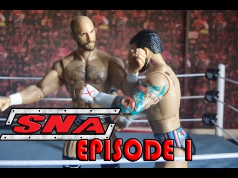 SNA Wrestling Episode 1 (WWE Figure Stop Motion)