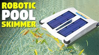 Robotic Solar Powered Pool cleaner