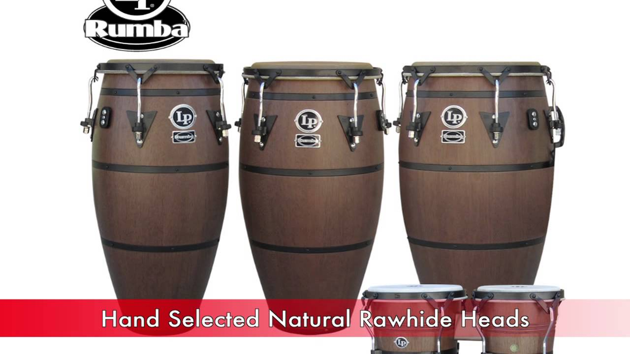 latin percussion rumba series congas bongos cajon and djembe youtube. Black Bedroom Furniture Sets. Home Design Ideas
